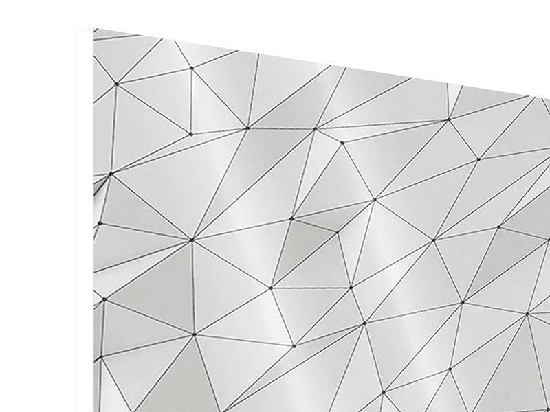 Hartschaumbild 9-teilig 3D-Geo