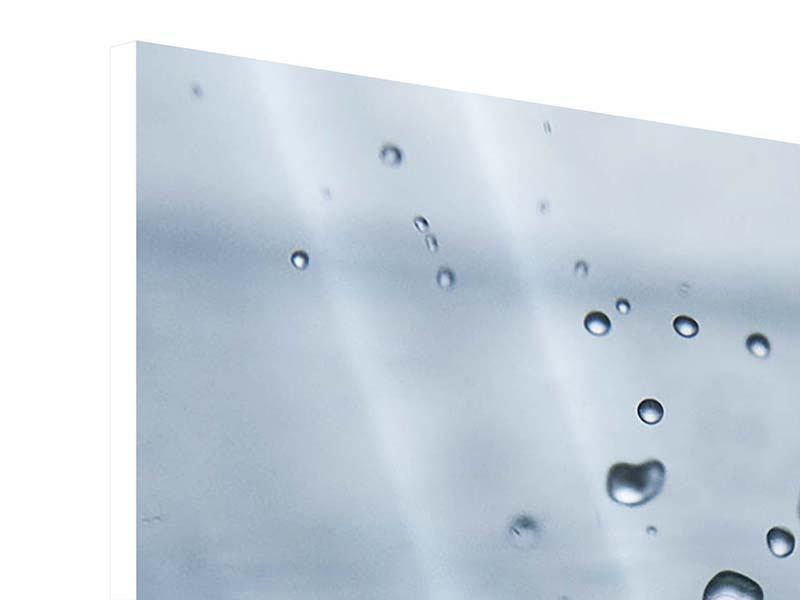 Hartschaumbild 9-teilig Wassertropfen