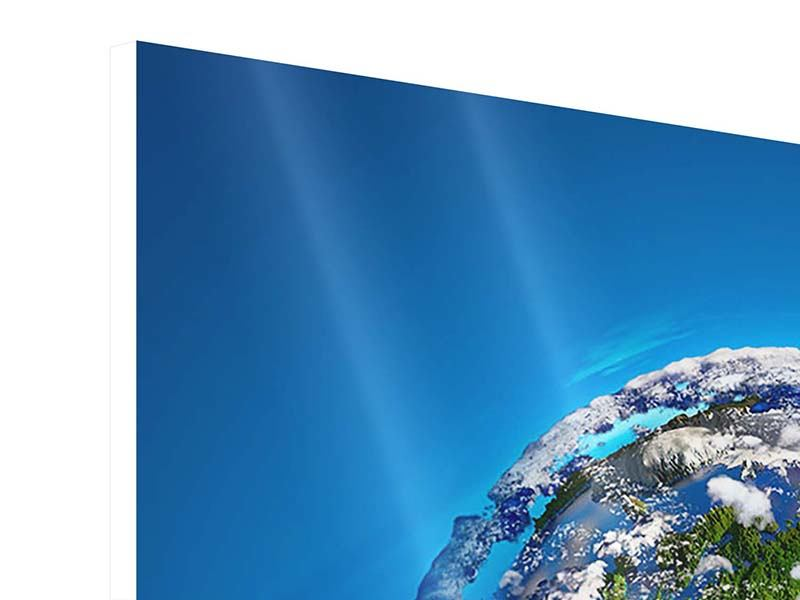 Hartschaumbild 9-teilig Planet Earth