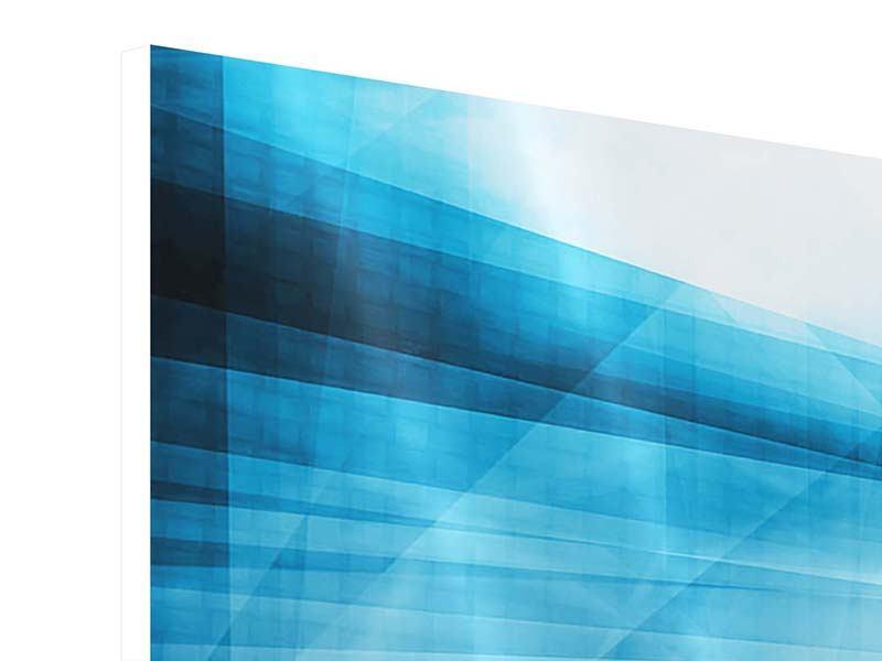 Hartschaumbild 9-teilig Abstrakte Lichtshow