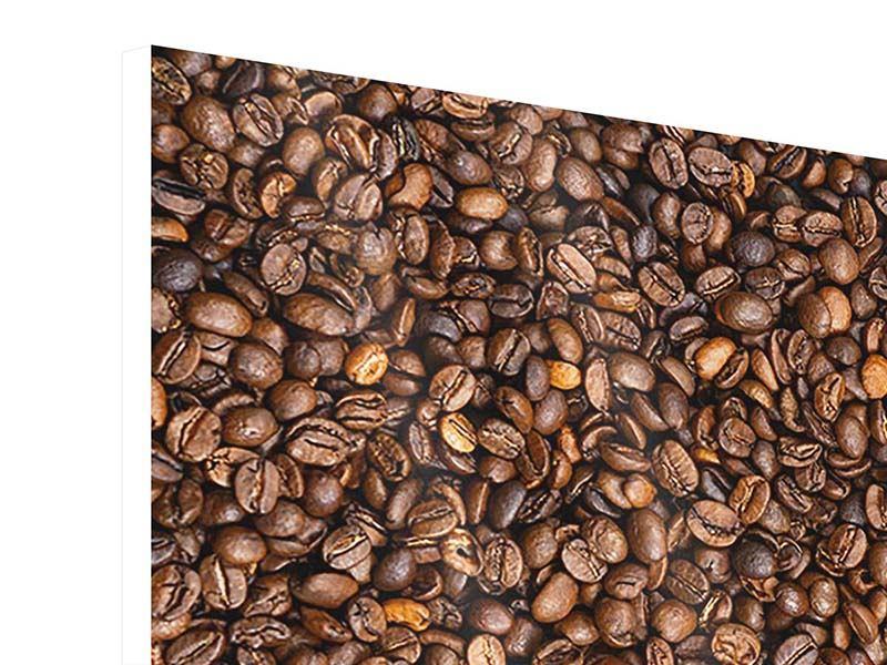 Hartschaumbild 9-teilig Kaffeebohnen
