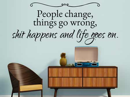 Wall Sticker That`s Life