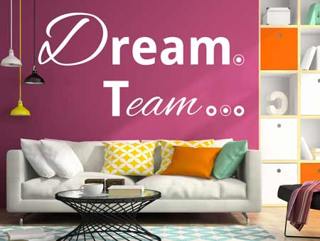 Wall Sticker Dream Team
