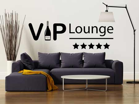 Wall Sticker Vip Lounge