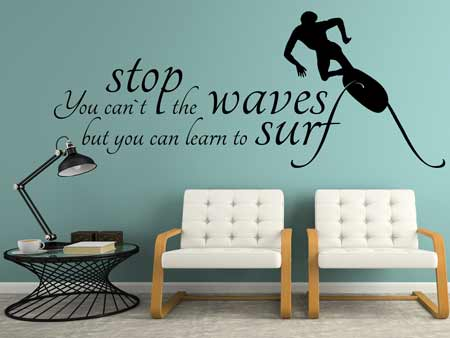 Wall Sticker wordly Wisdom