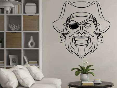 Wall Sticker The pirate