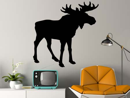 Wall Sticker The Moose