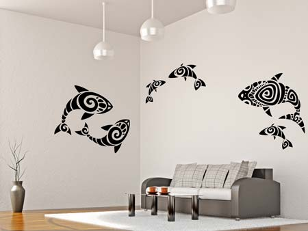 Wall Sticker abstract fish