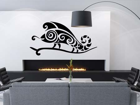 Wall Sticker abstract chameleon