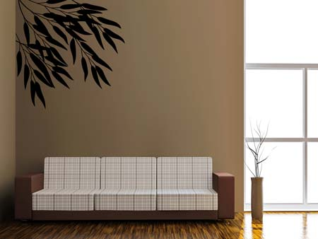Wall Sticker bamboo leaves