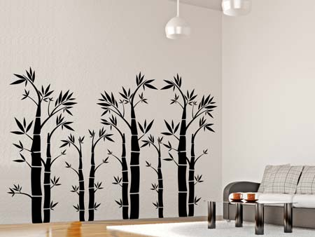 Wall Sticker bamboo forest