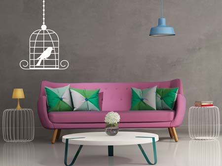 Wall Sticker birdcage