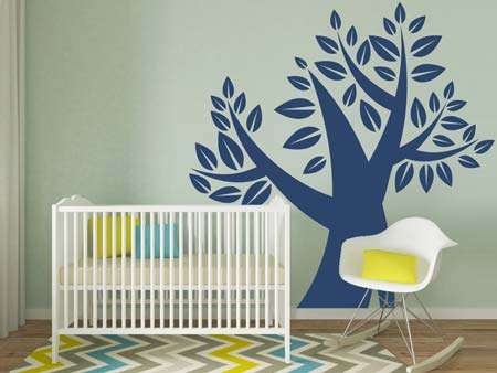 Wall Sticker Abstract tree