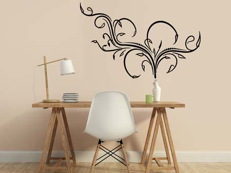 Wall Sticker playful tendril