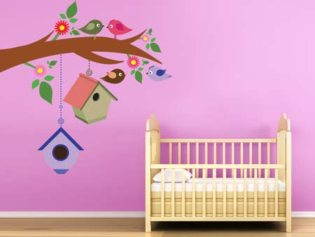 Wall Sticker happy birds