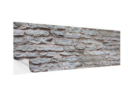 Klebeposter Panorama Steinmauer