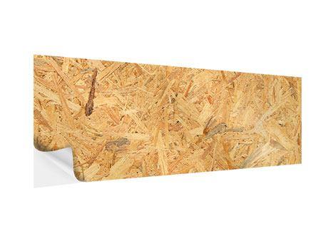 Klebeposter Panorama Gepresstes Holz