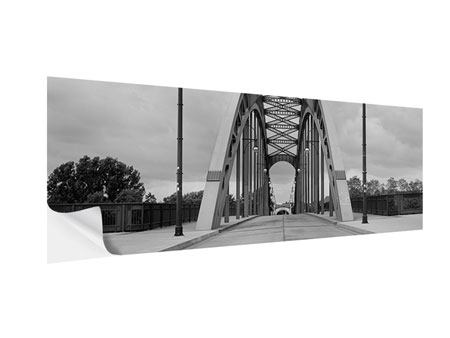 Klebeposter Panorama Poetische Brücke
