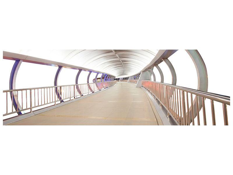 Klebeposter Panorama Brückenfeeling