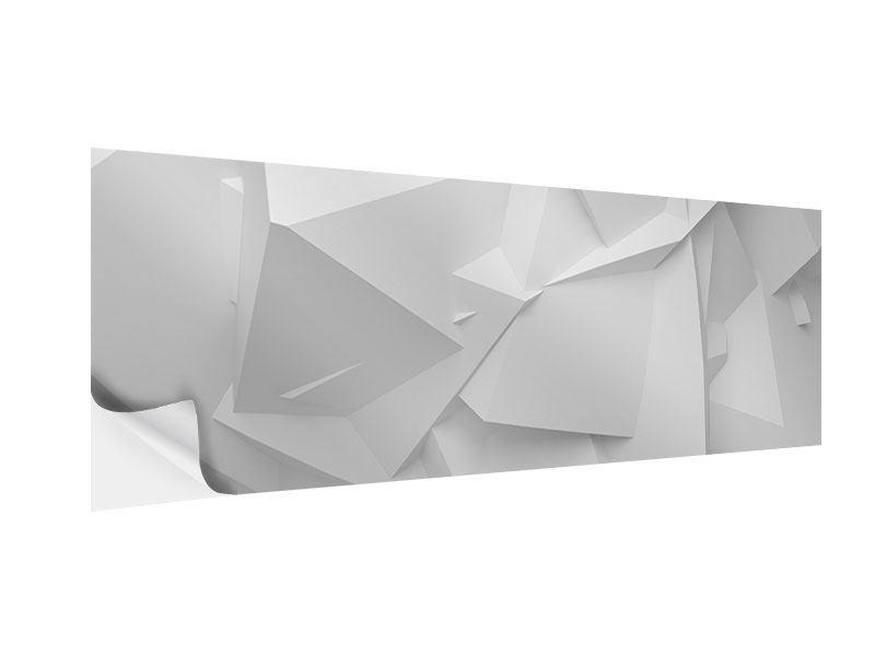 Klebeposter Panorama 3D-Raster