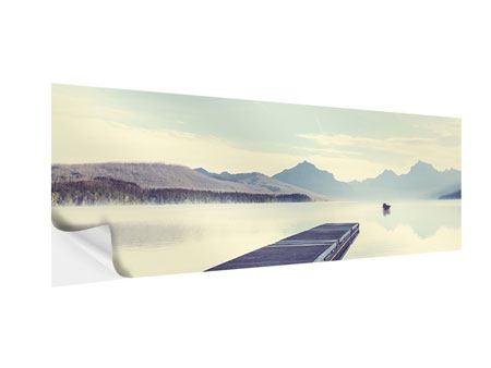 Klebeposter Panorama Bergromantik