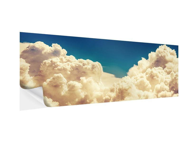 Klebeposter Panorama Himmelswolken