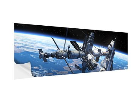 Klebeposter Panorama Satellit