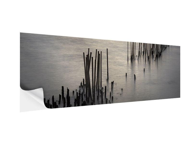 Klebeposter Panorama Das Meer und die Träne