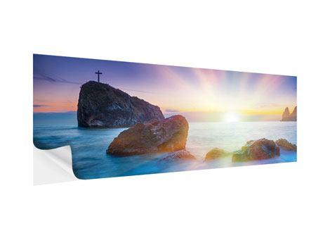 Klebeposter Panorama Mystisches Meer