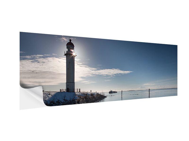 Klebeposter Panorama Sailing