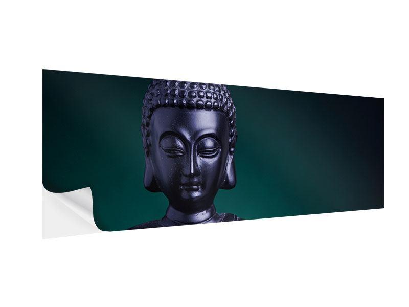 Klebeposter Panorama Die Weisheit des Buddhas
