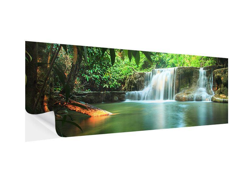 Klebeposter Panorama Element Wasser