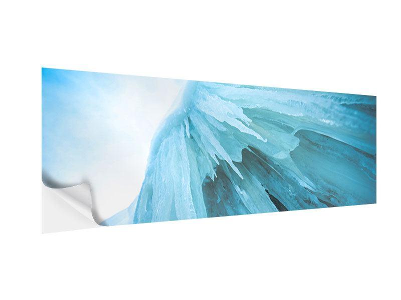 Klebeposter Panorama Die Eiswand