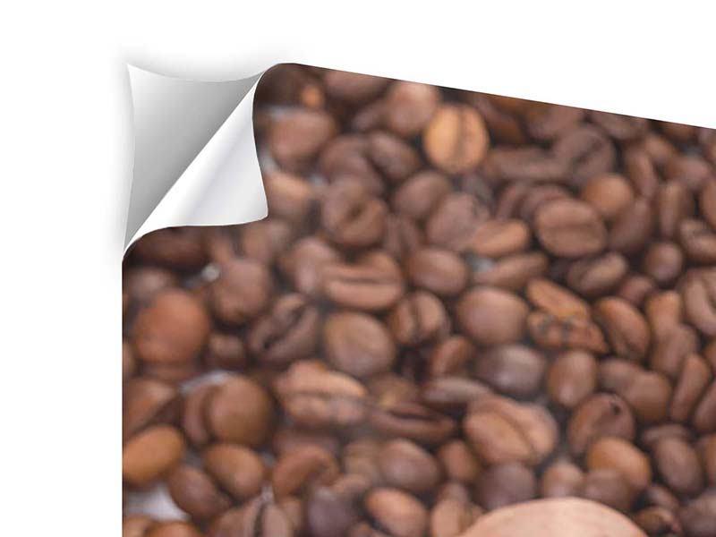 Klebeposter Panorama Pausenkaffee