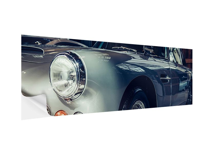 Klebeposter Panorama Classic Car