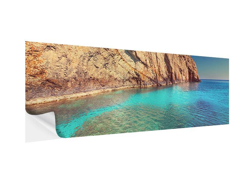 Klebeposter Panorama Wasser
