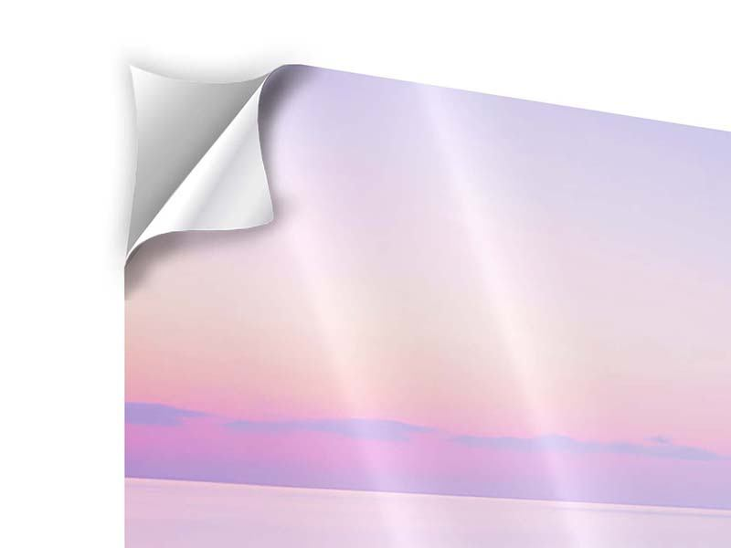Klebeposter Panorama Unendlicher Ozean