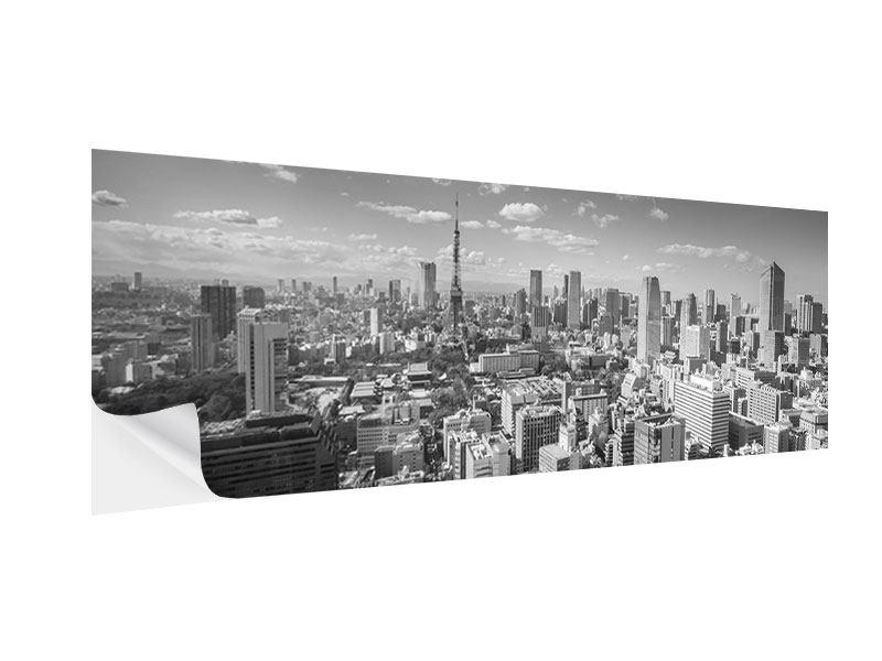 Klebeposter Panorama Tokio