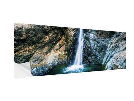 Klebeposter Panorama Bewegtes Wasser