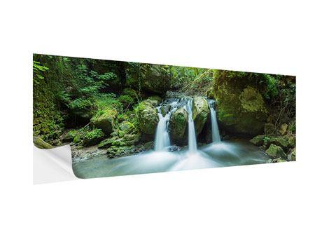 Klebeposter Panorama Wasserspiegelungen