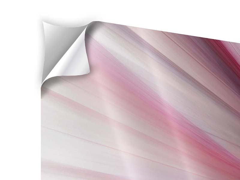 Klebeposter Panorama Abstraktes Lichterleuchten