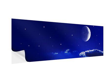 Klebeposter Panorama Der Nachthimmel