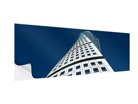 Klebeposter Panorama Meisterstück Wolkenkratzer