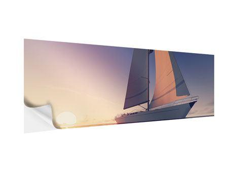 Klebeposter Panorama Das Segelschiff