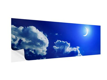 Klebeposter Panorama Der Mond