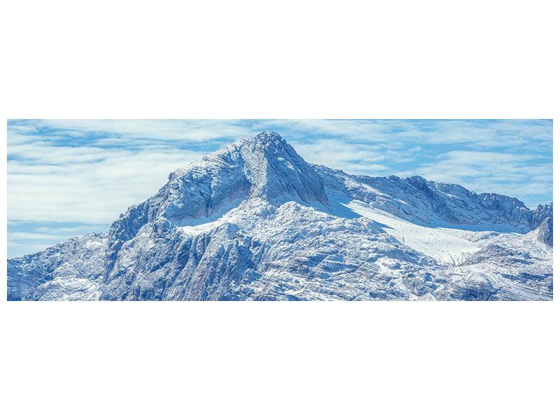 Klebeposter Panorama Friedliche Bergstimmung