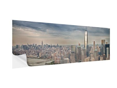 Klebeposter Panorama Skyline Manhattan