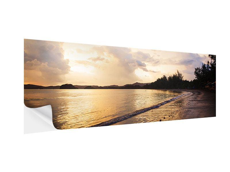 Klebeposter Panorama Das Ufer