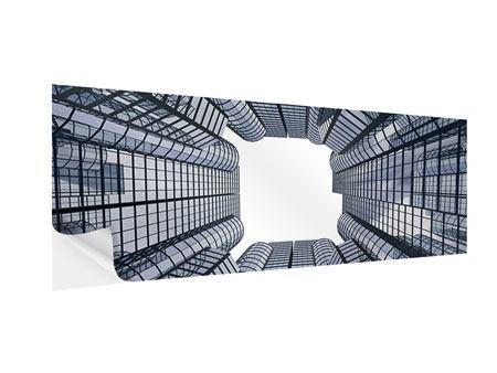 Klebeposter Panorama Besondere Perspektive