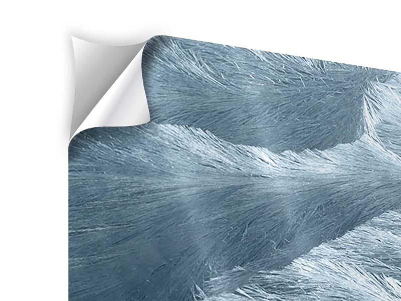 Klebeposter Panorama Eis